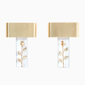 Hollywood Regency French Sconces from Maison Charles, 1970s, Set of 2