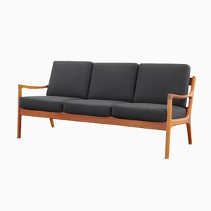Teak Sofa by Ole Wasche for France & Son, 1951