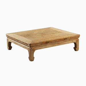 Antique Chinese Elm Kang Low Table