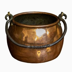 Victorian Copper Cooking Pot