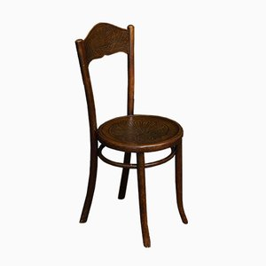 Antique Bentwood Dining Chairs from Mundus + Jacob & Josef Kohn, Set of 4