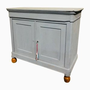 Antique Light Gray Buffet