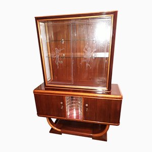 Vintage Italian Rosewood Shelf