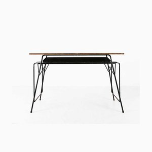 Mid-Century Desk by Willy van der Meeren for Tubax