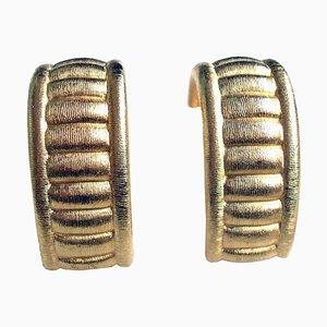 Boucles d'Oreilles Clip Vintage par Givenchy, 1980s, Set de 2