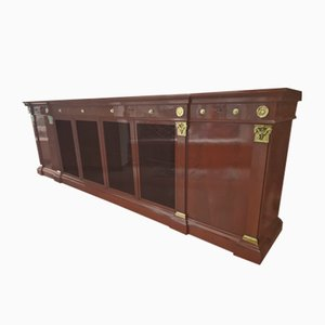Antique Empire Mahogany Sideboard