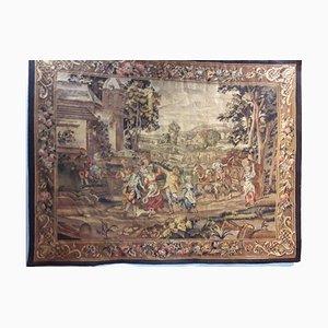 Antiker Aubusson Wandteppich