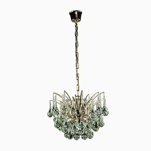 Vintage Crystal Chandelier from Christoph Palme, 1970s