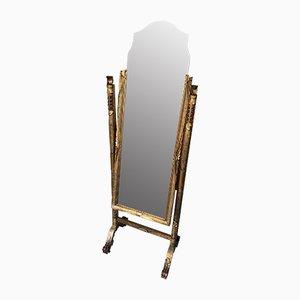 Freistehender Vintage Spiegel