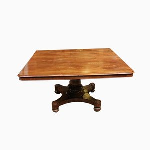 Antique Rectangular Mahogany Dining Table