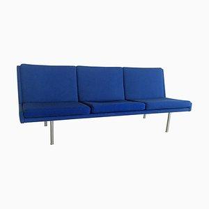 Airport Sofa in Blau von Hans J. Wegner für AP Stolen, 1960er