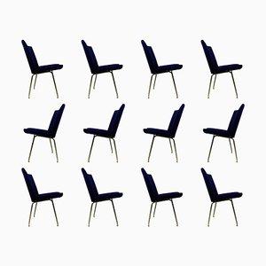 Airport Chairs von Hans J. Wegner für AP Stolen, 1960er, 12er Set