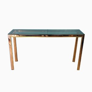 Italian Console Table by Renato Zevi for Romeo Rega, 1970s