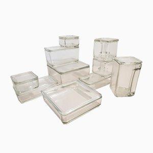 Vintage Cube Tableware Set by Wilhelm Wagenfeld for Weisswasser, Set of 20