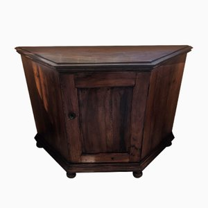Antique Solid Walnut Sideboard