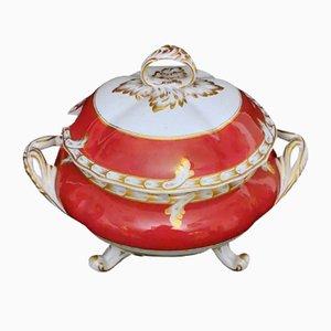 Napoleon III French Soup Tureen by Porcelain de Paris
