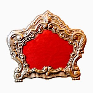 18th Century Venetian Silver Frame by Bucintoro Argenti, 1970s