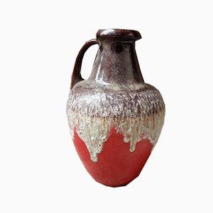 Large Fat Lava Vase from Bay Keramik, 1960s