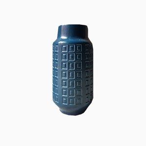 Large Minimalist Blue Vase, 1970s