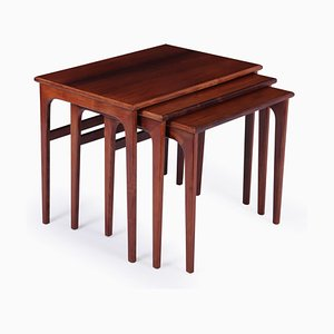 Mid-Century Danish Rosewood Nesting Tables, 1960s