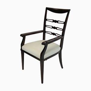 Vintage Italian Cherrywood Armchair by Paolo Buffa, 1940s
