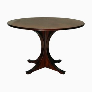 Mid-Century Italian Rosewood Side Table, 1950s
