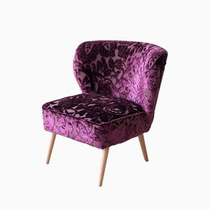 Purple Chubby Club Chair by Designers Guild and Photoliu