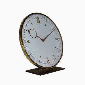 Grande Horloge de Table Art Déco par Heinrich Möller pour Kienzle International, 1930s