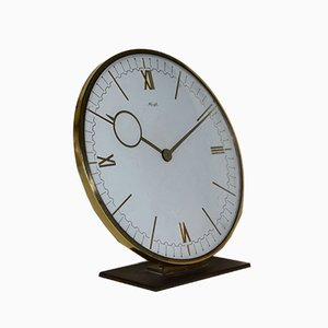 Large Art Deco Table Clock by Heinrich Möller for Kienzle International, 1930s