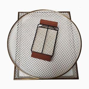 Tabletts und Servierständer im Stil von Mathieu Mategot, 1950er, 3er Set