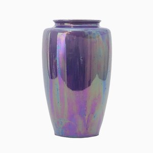 Large High-Lustre Glazed Art Vase by William Howson Taylor for Ruskin Pottery, 1910s