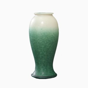 Matt Crystalline-Glaze Baluster Art Vase from Ruskin Pottery, 1920s