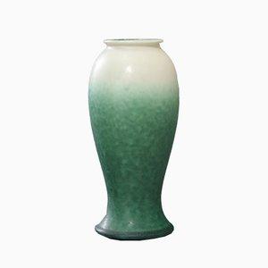 Matt Glasierte Baluster Art Vase von Ruskin Pottery, 1920er