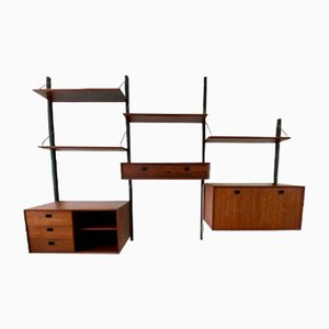 Rosewood Wall Units by Louis van Teeffelen for WéBé, 1960s