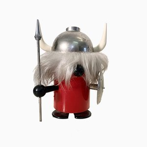Mid-Century Italian Viking Table Lamp by Enea Ferrari for Lines Zero & Oldtimer Ferrari