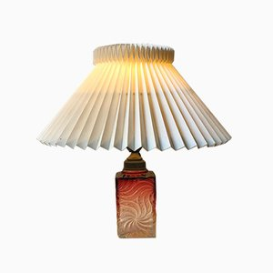 Italian Murano Art Glass Table Lamp, 1930s