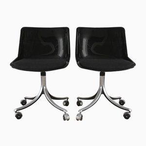 Italienische Modell Modus Stühle von Osvaldo Borsani für Tecno, 1970er, 2er Set