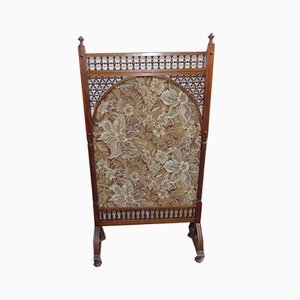 Art Nouveau Wooden Room Divider