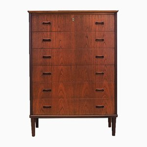 Mid-Century Teak Chest of Drawers