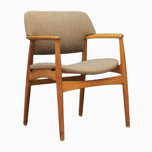 Mid-Century Danish Armchair from Fritz Hansen