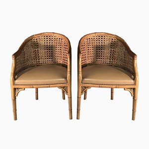 Lounge Chairs, 1980s, Set of 2