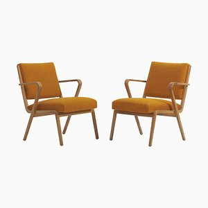 Easy Chairs by Selman Selmanagic for Deutsche Werkstätten Hellerau, 1950s, Set of 2
