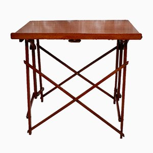 Antique Edwardian Mahogany Folding Artists Table from Hatherley