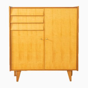 Birch and Walnut Veneer Chest of Drawers, 1950s