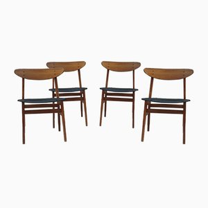 Mid-Century Danish Model 210 Dining Chairs from Farstrup Mobler, Set of 4