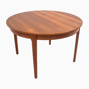 Danish Round Dining Table, 1960s