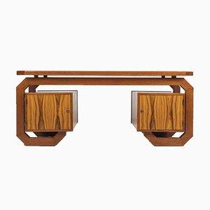 Bauhaus Modern Rosewood Desk, 1960s