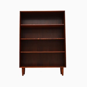 Vintage Danish Rosewood Open Bookcase, 1960s