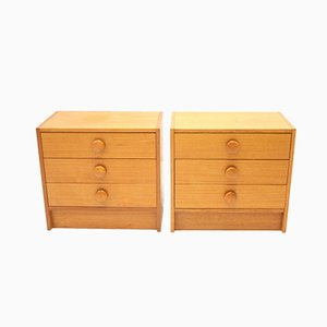 Vintage Danish Bedside Tables, 1966, Set of 2