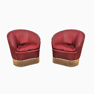 Lounge Chairs in the Style of Gio Ponti for Casa e Giardino, 1940s, Set of 2
